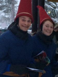 Elves in Lapland