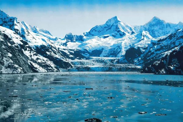Alaskan Fjord - see from one of our cruise ships